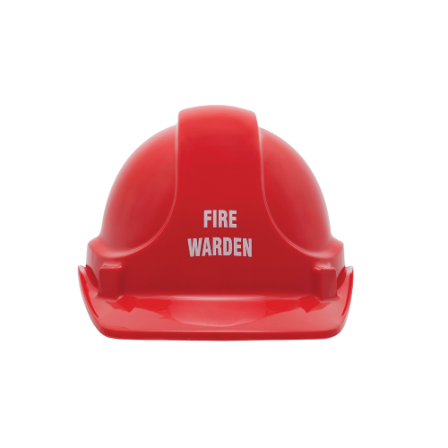 Emergency Warden Hard Hat