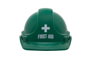 First Aid Officer Hard Hat